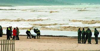 Resultado de imagen de El cadáver fue encontrado en una playa de Barbate