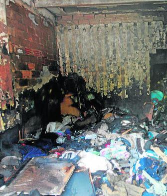 Dos personas heridas leves en el incendio de un cuarto trastero en ...
